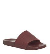 Office Flume Slide RED BURGUNDY