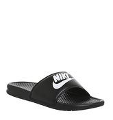 Nike Benassi Slide BLACK WHITE