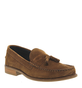 Ask the Missus Bonjourno Tassel loafers RUST SUEDE