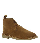 Farah Lozza Desert Boot TAN SUEDE