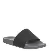 Office Flume Slide BLACK GREY
