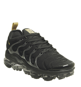 Nike Vapormax Air Vapormax Plus BLACK METALLIC GOLD