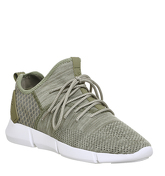 Cortica Infinity 2.0 Runner OLIVE WHITE KNIT