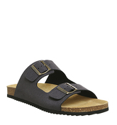 Office Dubai Buckle Sandal DARK GREY