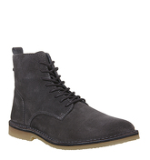 Office Ibex Lace Boot GREY SUEDE