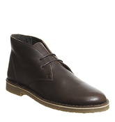 Office Inferno Desert Boot CHOC LEATHER