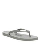 Office Holiday Flip Flop GREY
