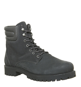 Ask the Missus Ion Lace Boot GREY NUBUCK