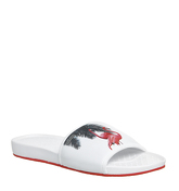 Ted Baker Sauldi 2 Synt Am WHITE RED TEXTILE