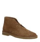Office Inferno Desert Boot RUST SUEDE
