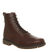 Timberland Lux Lace Up Boot BROWN LEATHER
