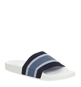 Office Flume Elastic Slide NAVY STRIPE