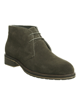 Ask the Missus Inland Chukka KHAKI SUEDE