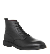 Poste Idris Lace Boot BLACK LEATHER
