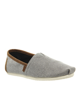 Toms Classic FROST GREY CHAMBRAY EXCLUSIVE