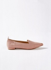 Womens Faith Pointed Loafers, NUDE