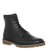 Office Impala Lace Boot BLACK LEATHER