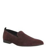 Ask the Missus Haze Loafer BURGUNDY SUEDE