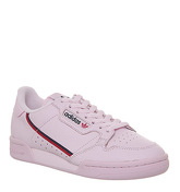 Adidas Continental 80s CLEAR PINK SCARLET COLLEGIATE NAVY