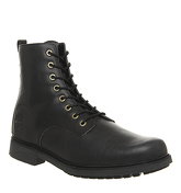 Timberland Lux Lace Up Boot BLACK LEATHER