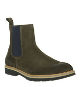 Ask the Missus Igloo Chelsea KHAKI SUEDE
