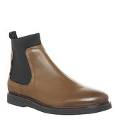 Ask the Missus Icarus Chelsea Boot TAN LEATHER