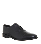 Office Classics Oxford BLACK LEATHER