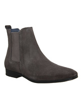 Ask the Missus Iago Boot GREY SUEDE