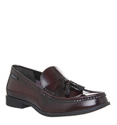 Ben Sherman Loco Tassle Loafer BORDO HIGH SHINE