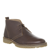 Office Impala Desert Boot TAN LEATHER