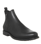 Ask the Missus Image Zip Boot BLACK LEATHER
