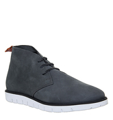 Ask the Missus Inject Chukka GREY NUBUCK