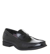 Ben Sherman Spring Penny Loafer BLACK HIGH SHINE