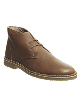 Office Inferno Desert Boot TAN LEATHER