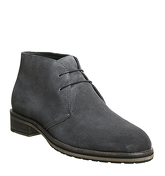 Ask the Missus Inland Chukka GREY SUEDE