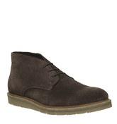 Ask the Missus Inch Wedge Chukka CHOCOLATE SUEDE