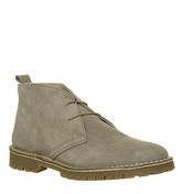Office Impala Desert Boot STONE SUEDE