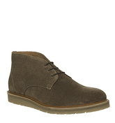 Ask the Missus Inch Wedge Chukka TAUPE SUEDE