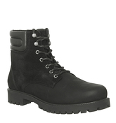 Ask the Missus Ion Lace Boot BLACK NUBUCK