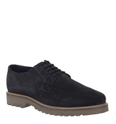Office Illuminate Derby Shoes NAVY SUEDE