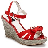 C.Petula  SUMMER  women's Sandals in Red