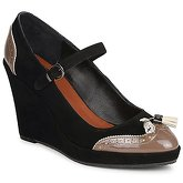 C.Petula  MAGGIE  women's Court Shoes in Black