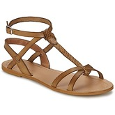 So Size  BEALO  women's Sandals in Brown