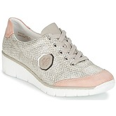 Rieker  CIBILE  women's Shoes (Trainers) in Pink
