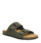Office Dubai Buckle Sandal KHAKI