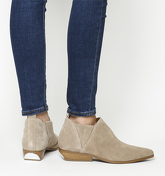 Kendall - Kylie Violet Ankle Boot TAN SUEDE