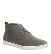 Office Festival Sneaker Hi GREY CANVAS
