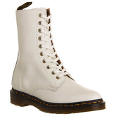 Dr. Martens Core Alix boots OFF WHITE POLISHED LEATHER