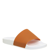 Office Flume Slide WHITE ORANGE