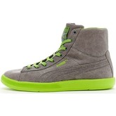 Puma  Archive Lite Mid Washed Trainers in Grey   Green 355536 03  women's Shoes (High-top Trainers) in Grey